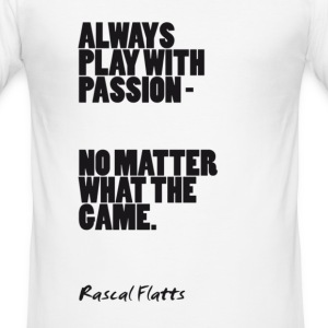 Play With Passion: Rascal Flatts - Men's Slim Fit T-Shirt