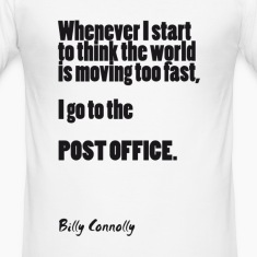 Post Office: Billy Connolly