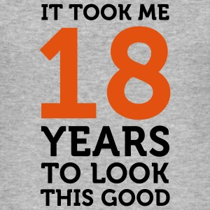 18 Years To Look Good 1 (2c)++ T-Shirts - Men's Slim Fit T-Shirt