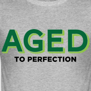 Aged To Perfection 2 (dd)++ T-Shirts - Men's Slim Fit T-Shirt