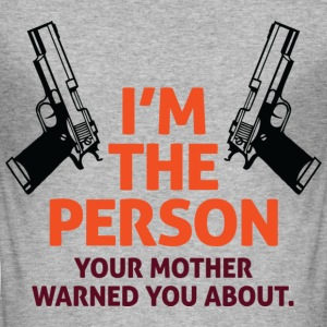 Im The Person 2 (dd)++ T-shirts - Slim Fit T-shirt herr