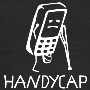 HANDYCAP T-Shirts - Männer Slim Fit T-Shirt