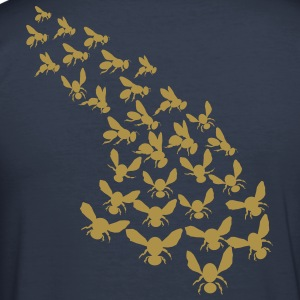 Swarm of bees - Men's Slim Fit T-Shirt