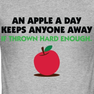 An Apple A Day 2 (dd)++ T-shirt - Maglietta aderente da uomo
