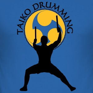 Taiko Drumming - Männer Slim Fit T-Shirt
