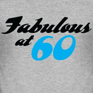 Fabulous At 60 (dd) T-Shirts - Men's Slim Fit T-Shirt