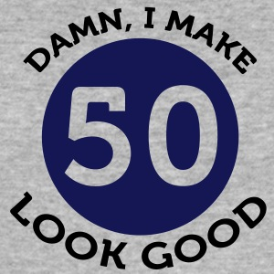I Make 50 Look Good (2c)++ T-skjorter - Slim Fit T-skjorte for menn