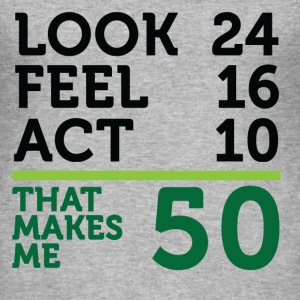 Look Feel Act 50 (dd)++ T-Shirts - Men's Slim Fit T-Shirt