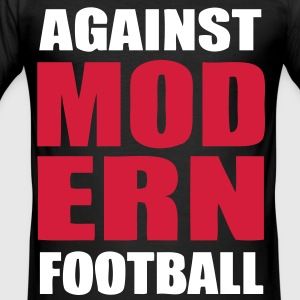 Against modern football 5 - slim fit T-shirt