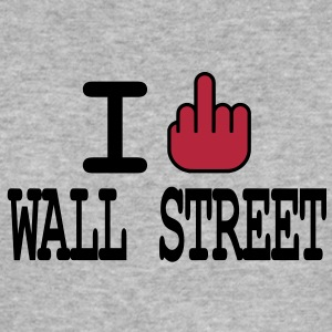 I F**K Wall Street T-shirts - slim fit T-shirt
