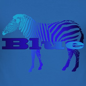 BlueZebra - Männer Slim Fit T-Shirt