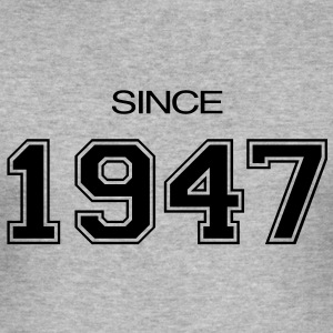birthday gift 1947 T-Shirts - Men's Slim Fit T-Shirt