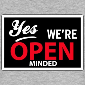 yes we are open minded T-skjorter - Slim Fit T-skjorte for menn