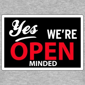 yes we are open minded T-shirts - Slim Fit T-shirt herr