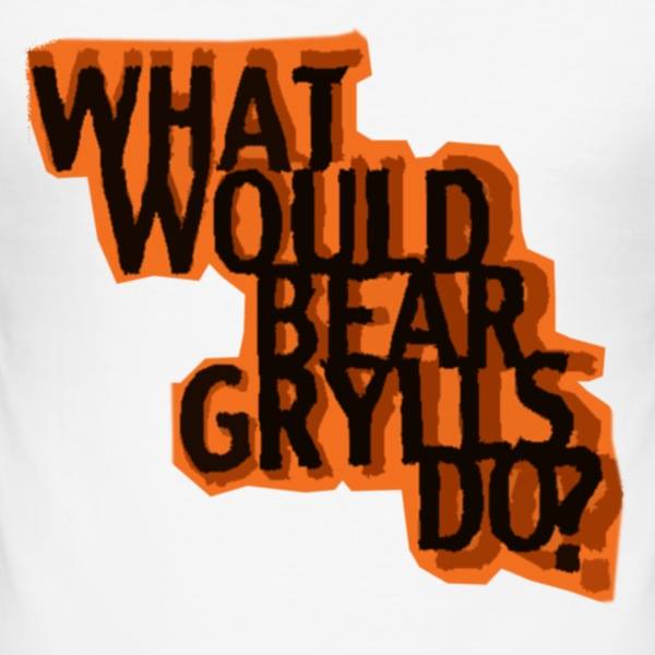 Bear Grylls T-Shirts - Men's Slim Fit T-Shirt
