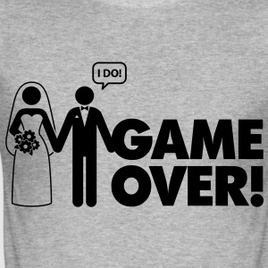 Game Over 2 (1c)++ Tee shirts - Tee shirt près du corps Homme