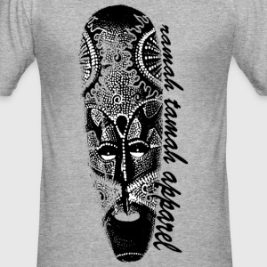 Ramah Tamah Aboriginal Mask T-Shirts - Men's Slim Fit T-Shirt