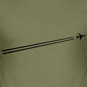 airplane T-Shirts - Men's Slim Fit T-Shirt