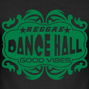 reggae dance hall good vibes T-shirts - Slim Fit T-shirt herr