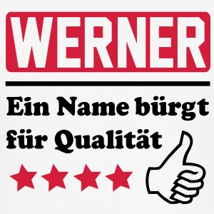werner T-Shirts - Männer Slim Fit T-Shirt