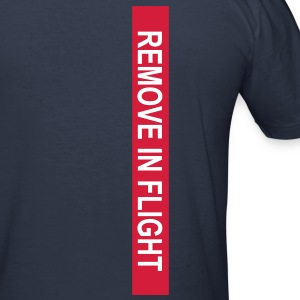 Remove in Flight T-Shirts - Männer Slim Fit T-Shirt