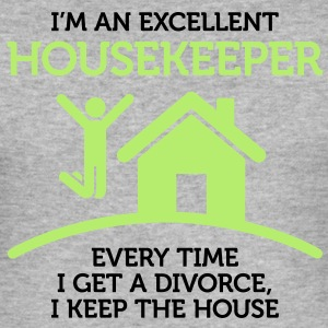Excellent Housekeeper 1 (2c)++ T-Shirts - Men's Slim Fit T-Shirt