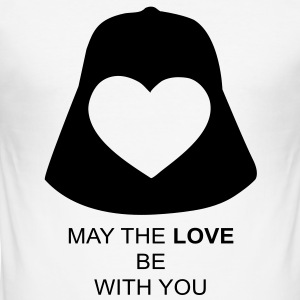 Love Vader T-shirts - Slim Fit T-shirt herr