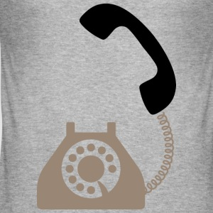 Telephone (dd)++ T-Shirts - Men's Slim Fit T-Shirt