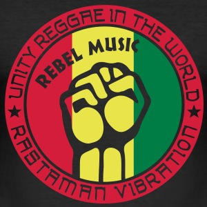 unity reggae in the world T-shirts - slim fit T-shirt