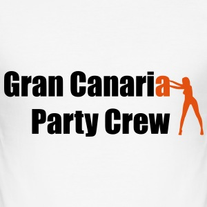 Gran Canaria T-shirts - Slim Fit T-shirt herr