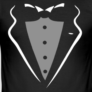 TUXEDO TUXEDO SUIT SHIRT T-shirts - Herre Slim Fit T-Shirt