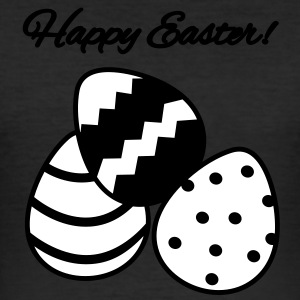 ostereier/easter eggs T-shirts - Slim Fit T-shirt herr