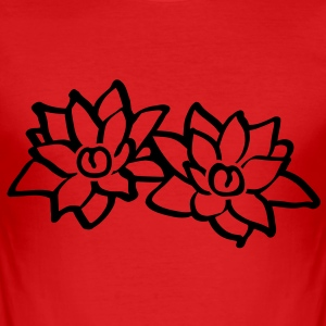 Lotus Flowers Tee shirts - Tee shirt près du corps Homme