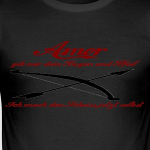 Amor T-Shirts - Männer Slim Fit T-Shirt