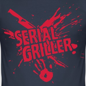 SERIAL GRILLER - barbecue Tee shirts - Tee shirt près du corps Homme