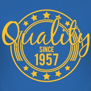 Birthday - Quality since 1957 (it) T-shirt - Maglietta aderente da uomo
