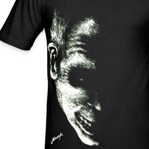 Behind The Shadows T-shirts - Slim Fit T-shirt herr