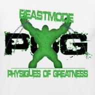 Design ~ Beastmode Beast (Black Letters)