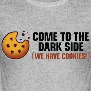 Come To The Darkside 2 (dd)++ T-shirts - Slim Fit T-shirt herr