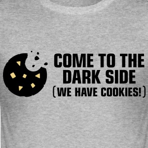 Come To The Darkside 2 (3c)++ T-shirts - Slim Fit T-shirt herr