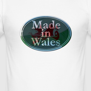 Wales Made in Wales - Men's Slim Fit T-Shirt