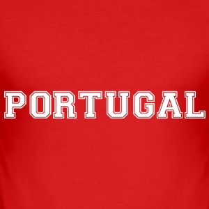 portugal T-Shirts - Men's Slim Fit T-Shirt