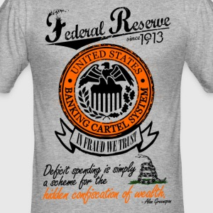 Federal Reserve System Since 1913 T-Shirt - Männer Slim Fit T-Shirt