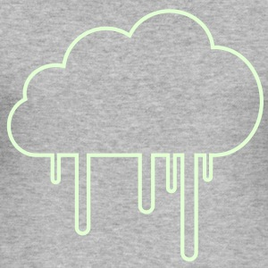 Regenwolke T-Shirts - Männer Slim Fit T-Shirt