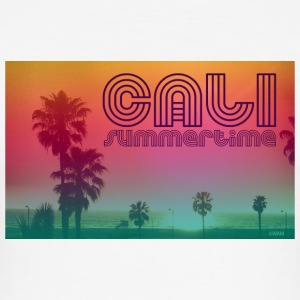 California summertime T-shirts - slim fit T-shirt
