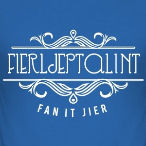 Fierljeptalent fan it jier T-shirts - slim fit T-shirt
