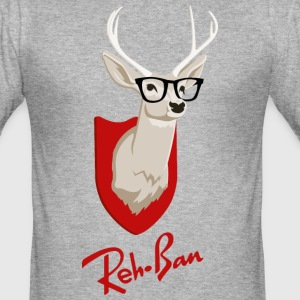 Reh-Ban - Männer Slim Fit T-Shirt