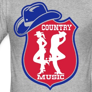 country music Tee shirts - Tee shirt près du corps Homme