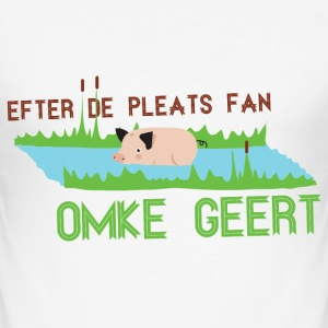 Efter de pleats fan Omke Geart T-shirts - slim fit T-shirt