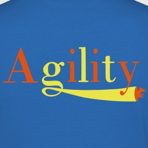 Agility tunnel T-skjorter - Slim Fit T-skjorte for menn